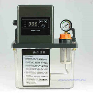 New 220vac Auto Lubrication Pump 2liter 2l Cnc Digital Electronic Timer