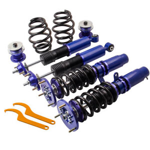 Br Coilovers For 1999 2005 Bmw E46 328 325 330 Dampers Springs Lowering Blue