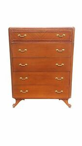 Neoclassical Style Tall Dresser By Rway Northern Furniture Company Of Sheboygan