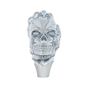 Chrome Skull Skeleton Hand Shift Knob Hot Rod Rat Rod Street Muscle Car