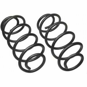 Moog Set Of 2 Coil Springs Rear New For Jeep Grand Cherokee 80873