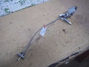 Vintage 1965 1967 Ford Mustang Cable Control Door Mirror Rotunda Fairlane Comet