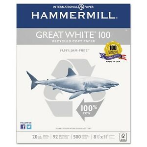 Hammermill Great White Copy Paper 86790
