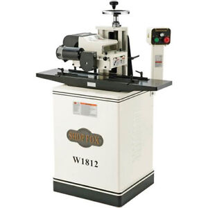 Shop Fox W1812 2 Hp 7 Variable Speed Planer moulder W Stand Cast Iron Wings