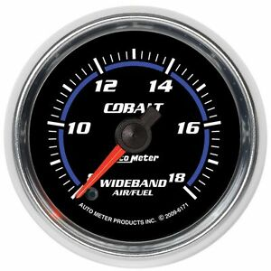 Autometer Air Fuel Ratio Monitor Gas New 6171