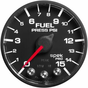 Autometer Fuel Pressure Gauge Gas New P315328