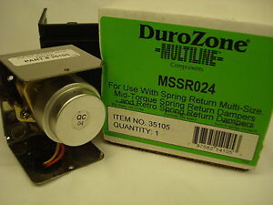 Durozone Mssr024 Replacement Damper Motor 35105 For Nsprd And Spms Dampers
