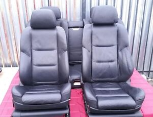 Bmw E65 E66 Oem Sport Package Front And Rear Seats Black Leather