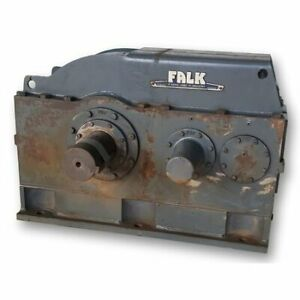 Used Falk Enclosed Gear Drive Reducer 2090y1 b 7 462 1 Ratio