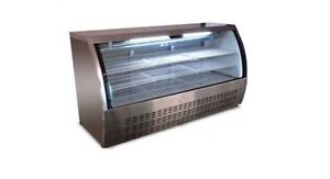 Alamo Xdc200 79 32cf Curved Glass Refrigerated Bakery Deli Meat Case Brand New