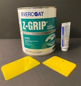 Evercoat Z Grip Non Clog Lightweight Body Filler Hardener Spreaders