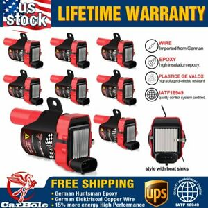 8x High Output New Ignition Coil Pack For Chevrolet Gmc 5 3 6 0 4 8l Uf 262 D585