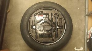 New 2012 Kia Soul Spare Tire Kit Factory Oem With Factory 15 Wheels
