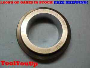 3 4262 Class X Master Plain Smooth Bore Ring Gage 3 7 16 3 4375 0113 Oversize