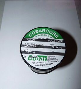 New Cobar Cobarcore Solder Tin silver copper 0 7mm Diameter C395 Flux