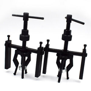 2pcs Black Gear Bearing Puller 3 jaw Extractor Pilot Remover Tool Suv 12mm 58mm