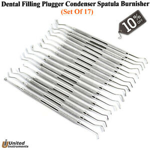Dental Filling Instruments Amalgam Composite Plastic Filling Restorative Tools