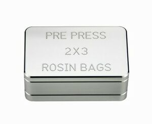 Rosin Pre Press Mold Size 2 X 3 part 2976