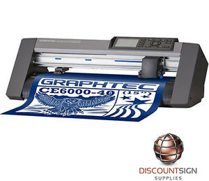 Graphtec Ce6000 40 Vinyl Cutter Plotter 15
