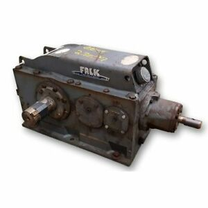Used 5 Hp Falk Enclosed Gear Drive 2050yb3 s 43 1 Ratio