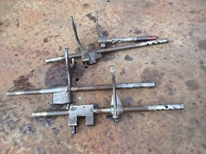 1954 Massey Harris 33 Gas Tractor Transmission Shift Shifting Forks Free Ship
