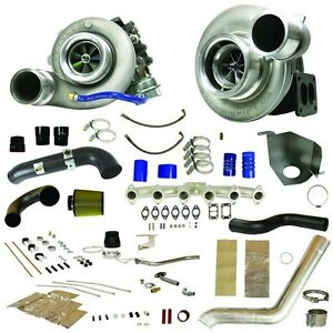 Fits 10 12 Only Dodge Ram Diesel Bd power Rt700 Track Master Twin Turbo Kit