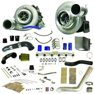 Fits 07 5 09 Only Dodge Ram Diesel Bd Power Rt800 Track Master Twin Turbo Kit
