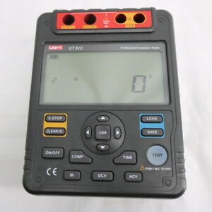2500v Digital Insulation Resistance Tester Meter Megohmmeter Low Ohm Uni t Ut512