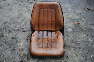Seat Case 1845c Skid Steer