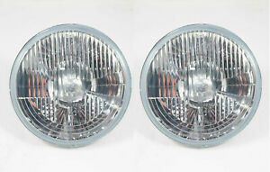 Vw Type 123 Bug Bus Ghia Hella 7 H4 Headlights 12v 55 60