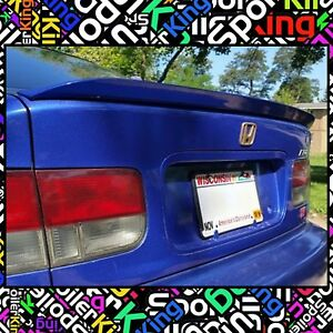 Spk 284g Fits Honda Civic 1996 00 2 4dr Rear Trunk Lip Spoiler duckbill Wing