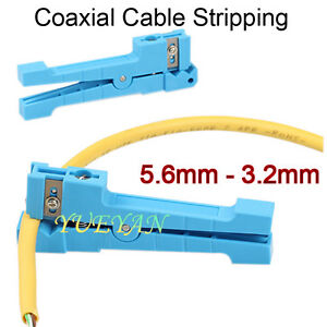 45 163 Coaxial Fiber Cable Stripper Cutting Tools Jacket Slitter Stripping Tool