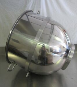 New Stainless Steel 80 Qt Bowl For Hobart Mixers
