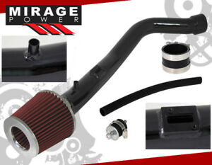 Black Jdm Cold Air Intake System For Nissan 04 05 Maxima 02 06 3 5l V6 Altima