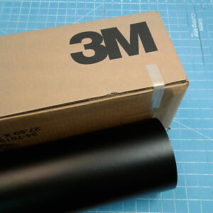 Matte Black Roll 24 X 100 3m Scotchcal Series 50 Graphic Sign Cutting Vinyl