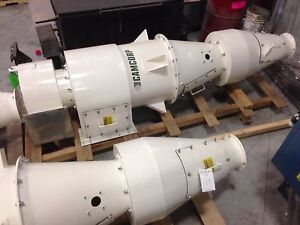 New Camcorp He27 Blower Cyclone Dust Collector 3000 Cfm 3 Total