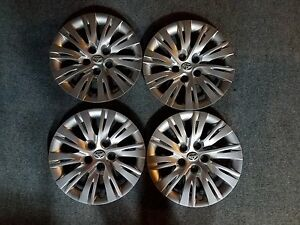 1 Set Of 4 Brand New 2012 2013 2014 Toyota Camry 16 Hubcaps Wheel Covers 61163