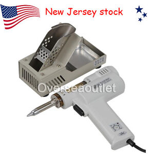 Us New S 993a 110v 90w Electric Vacuum Desoldering Pump Solder Sucker Gun 2 In 1