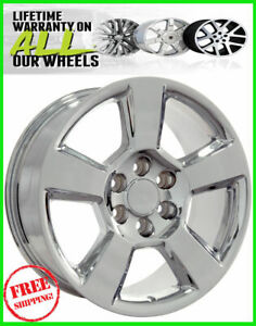 20 Chevy Silverado Chrome Suburban Tahoe Ltz Avalanch Wheels Rims 2016 2017