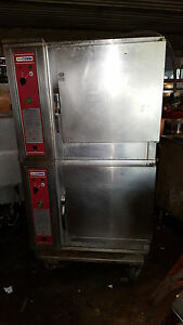 Blodgett Double Deck Combi Convection Steam Oven Bcs 6 208 Volt 3 Phase