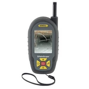 General Tools Compact Video Inspection Camera Lcd Digital Sewer Pipe Waterproof