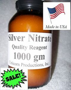 Silver Nitrate Quality Reagent 1000 Grams Or 1 Kilo