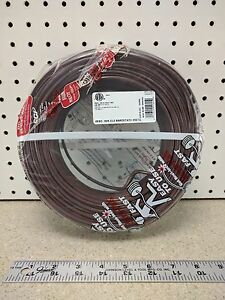 Coleman Cable 553055407 Thermostat Wire Cl2 Solid Bare Copper 18 5 250 foot
