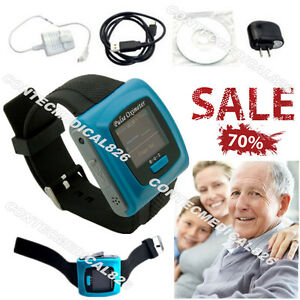 Fda Wrist Pulse Oximeter Spo2 Monitor Blood Oxygen Rate Daily night Analysis Ce