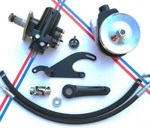 48 49 50 51 52 Ford Truck Power Steering Conversion