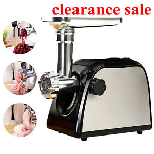 Commercial Electric Industrial Meat Grinder Mincer Sausage Maker Butcher Kitchen
