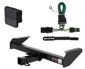 Curt Class 3 Trailer Hitch W Cover Wiring For Chevy Gmc Pickup 1500 2500 3500