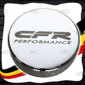 Chrome Finish Billet Aluminum Round Radiator Cap With Cfr Logo For Chevy Ford
