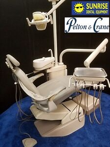 Pelton Crane Spirit 1500 Dental Operatory Chair Package W Cuspidor