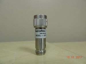 Aeroflex weinschel Model 1 Coaxial Attenuator 10db Gauge 93459 Cable As is